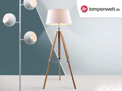 Let it shine: Spart jetzt 30€ bei Lampenwelt.de
