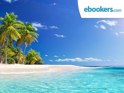 Urlaubsreif? 120€ Rabatt auf Flug- und Hotelbuchungen bei ebookers