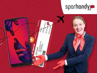 "Geile ""Air-Sparnis"": Huawei P20 Pro (10GB LTE) für 29,99€/mtl. + Freiflug"