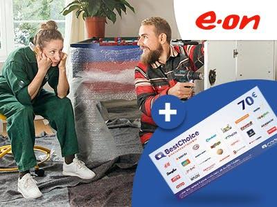 E.ON-Stromanbieterwechsel: bis zu 15% Bonus + 70€ BestChoice-Gutschein