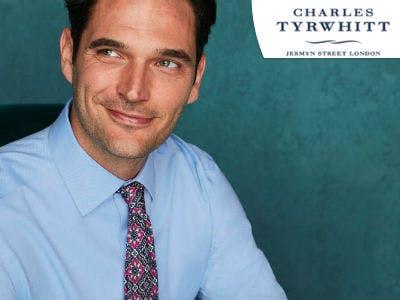 Time for Style: 30% Rabatt auf Hemden bei Charles Tyrwhitt