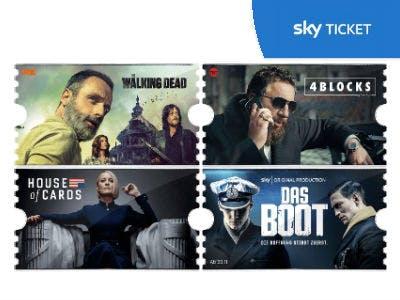 Sky Ticket bis Ende April für nur 4,99€