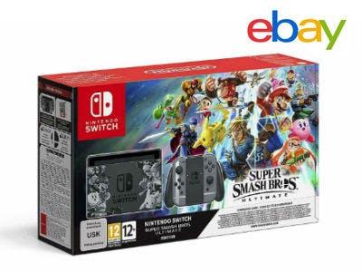 Nintendo Switch Super Smash Bros. Ultimate-Edition für 315€ bei eBay