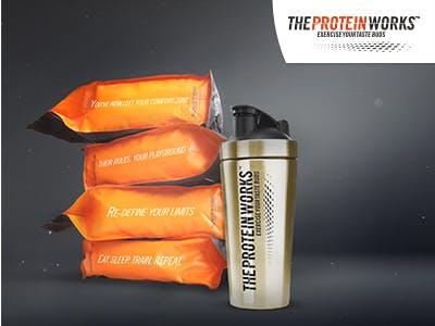 Sportlich! 15€ Rabatt auf alles bei The Protein Works