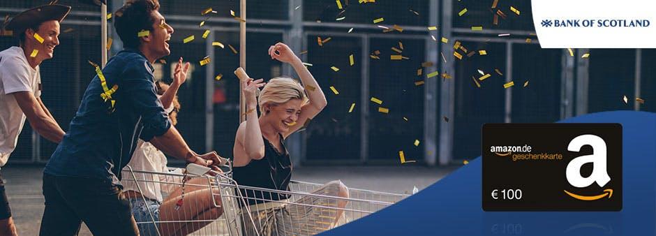 100€ Amazon.de-Gutschein zum Ratenkredit der Bank of Scotland