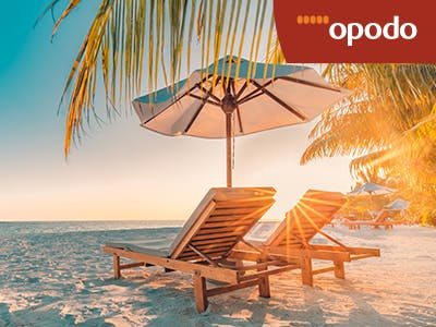 Alltag adieu: mit bis zu 80€ Rabatt von Opodo