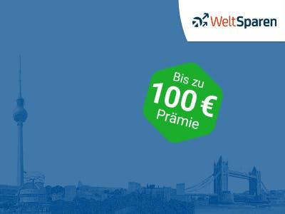 Bis zu 100€ Prämie + 25€ Amazon.de-Gutschein zum Fest- oder Tagesgeld