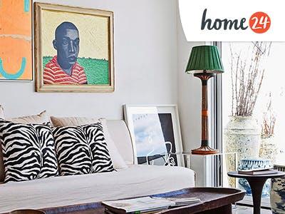 Jetzt neu einrichten mit bis zu 100€ Rabatt bei home24