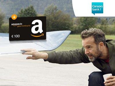 Consorsbank: Trader-Konto eröffnen + 100€-Amazon.de-Gutschein erhalten