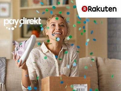 10€ Rabatt auf ALLES bei Rakuten mit paydirekt