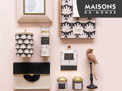 Geschenkt: Versandkosten für Deko bei Maisons du Monde