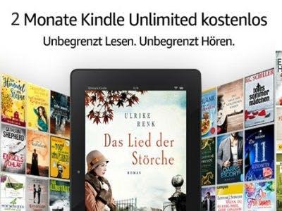 Jetzt 2 Monate Kindle Unlimited kostenlos lesen