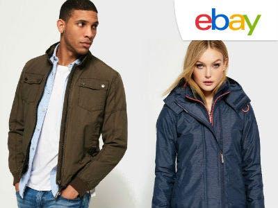 Superdry-Jacken für nur 25,16€ über eBay