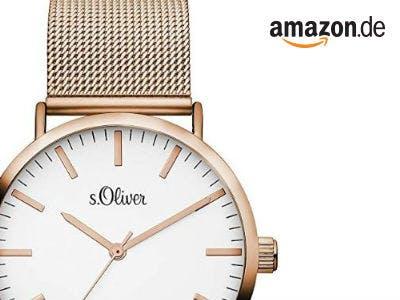 s.Oliver Damen Armbanduhr für nur 42,44€ bei Amazon