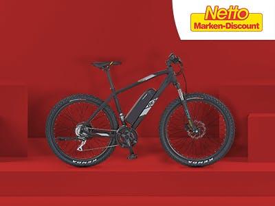 Rauf auf's Rad: 100€ Rabatt auf Fahrräder bei Netto