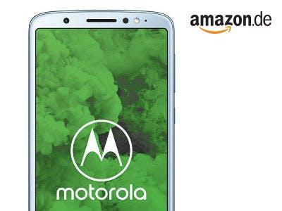 Motorola moto g6 Plus Smartphone für nur 179,99€ bei Amazon