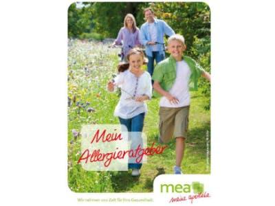Gratis in mea-Apotheken: Allergieratgeber mit Pollenflug-Kalender