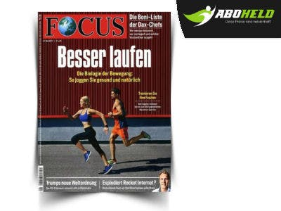 Jahresabo Focus für nur 24,90€