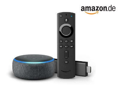 Mega-Bundle für nur 49,99€: Fire TV Stick (3. Generation) + Echo Dot