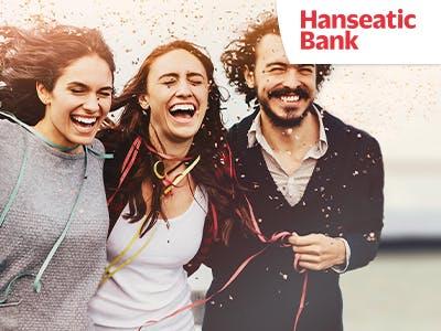 Kostenlose Kreditkarte GenialCard der Hanseatic Bank mit 50€ Bonus*