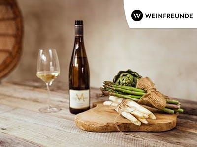 Perfekt zur Spargelzeit: 10% Rabatt auf alles bei Weinfreunde