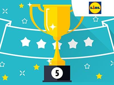 5 gewinnt: Zahle bei LIDL nur 5€ für viele Artikel