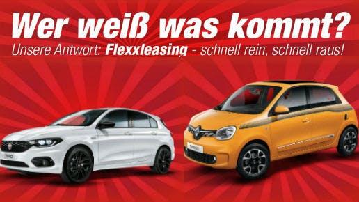 Flexibel bleiben mit dem Flexxleasing bei Autohaus König