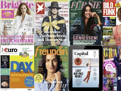 Jetzt Zeitschriften 3 Monate gratis lesen!