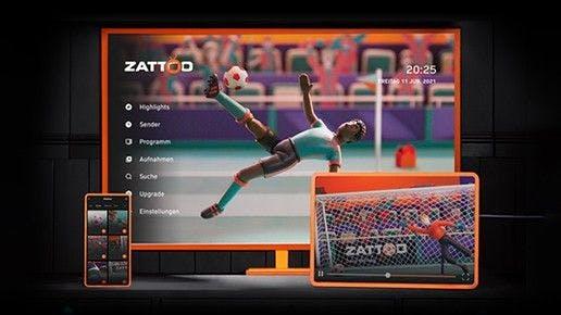 Zur EM: 2 Monate Zattoo Ultimate kostenlos sichern