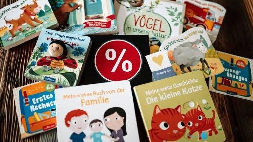 Ravensburger Kinderbücher-Restposten bei arvelle ab 0,99€