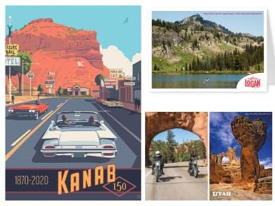 MyPostcard: gratis Postkarte verschicken mit Utah Motiven