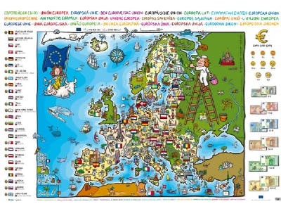 Europäische Union: Gratis Europakarte und mehr