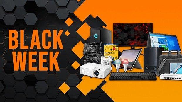 Viele tolle Deals zur Black Week bei notebooksbilliger.de
