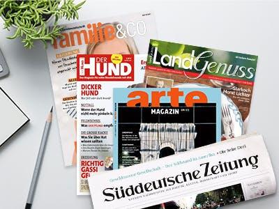 GRATIS Zeitschriften, Zeitungen und Abos mit attraktiven Prämien