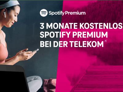 3 Monate Spotify Premium kostenlos über Telekom