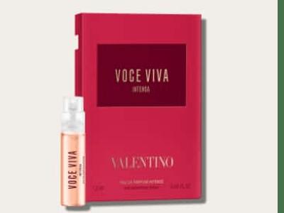 Gratis Duftprobe von Valentino