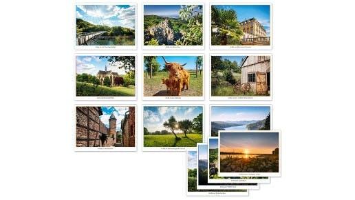 Kostenlose Postkarten verschicken mit Motiven aus der Region Rhein-Sieg