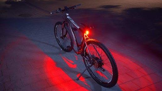 FISCHER Twin Fahrrad-Rücklicht mit 360° Bodenleuchte für nur 7,99€ (Prime)