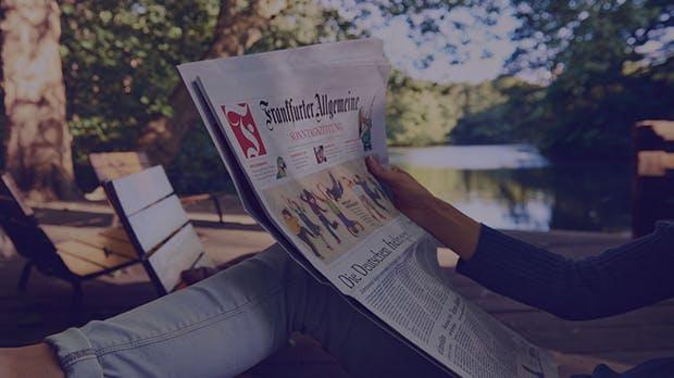 3 Monate Frankfurter Allgemeine Sonntagszeitung für nur 20€