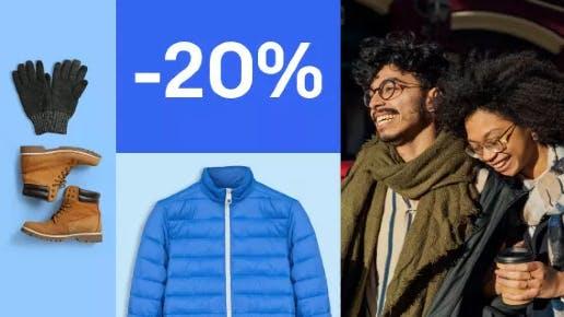 20% Rabatt auf Mode bei eBay