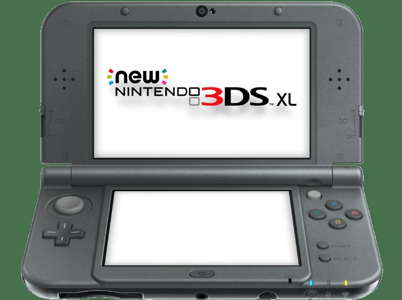 Aktionsangebot bei Saturn: New Nintendo 3DS XL Metallic Schwarz für 189 Euro versandkostenfrei