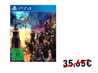 Kingdom Hearts 3 (PS4) für nur 28,99€