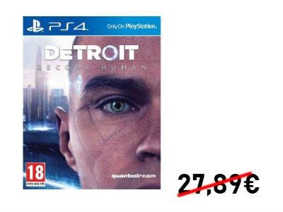 Nur 23,50€ für Detroit: Become Human