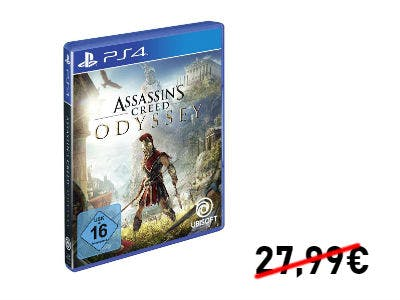 Nur 24€: Assassin's Creed Odyssey (PS4)