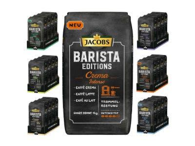 Nur 77,88€: 12 KG Jacobs Barista Kaffee